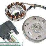Bosch CDI Ontsteking , 6volt/16/11/10/5 watt , 50 cc